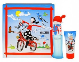 Komplekts Moschino Cheap & Chic I Love Love: edt 30 ml+ ķermeņa losjons 50 ml