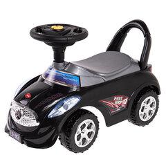 Толкательная машинка Smiki Sit n' Ride With Me, черная цена и информация | Толкательная машинка Smiki Sit n' Ride With Me, черная | 220.lv