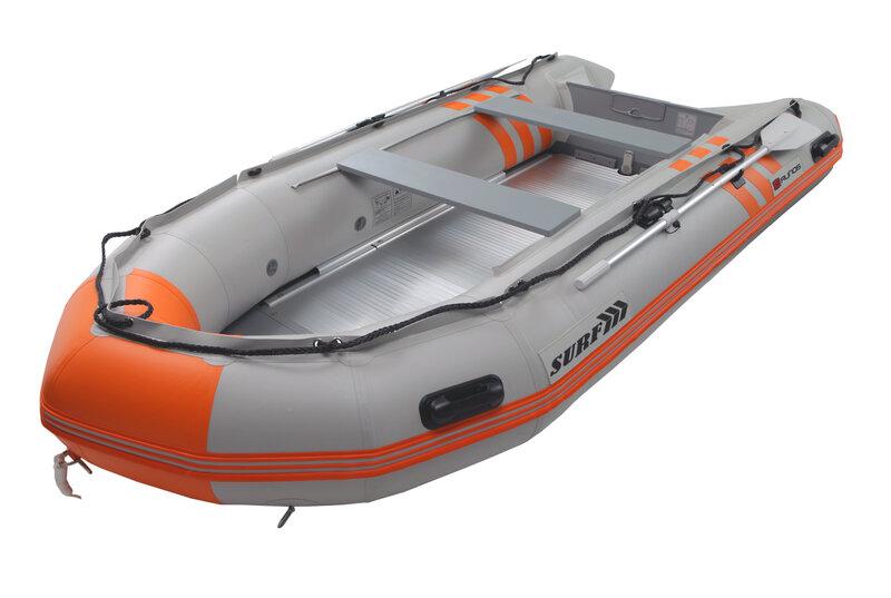 PVC laiva RUNOS SURF PVC, 3,70 m ar alumīnija grīdu cena un informācija | Laivas, to piederumi | 220.lv
