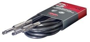 Audio kabelis Stagg 6.3 JACK mono TS - 6.3 JACK mono TS 6m cena un informācija | Audio kabelis Stagg 6.3 JACK mono TS - 6.3 JACK mono TS 6m | 220.lv