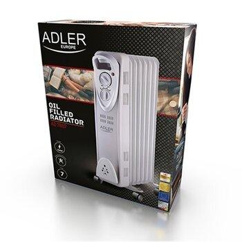 Eļļas sildītājs Adler AD 7807 cena un informācija | Sildītāji | 220.lv