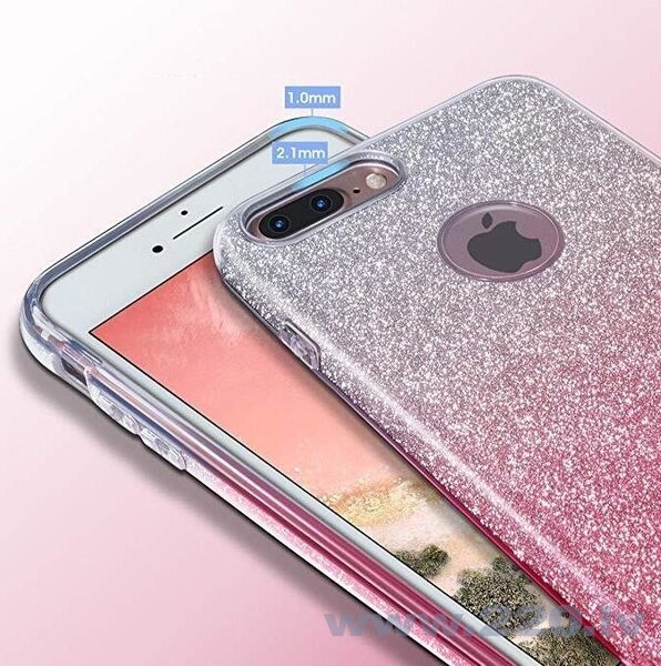 Wozinsky Glitter Case Shining Cover for Samsung Galaxy S10e black (Black)
