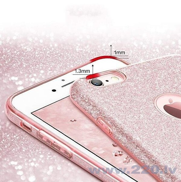 Wozinsky Glitter Case Shining Cover for Samsung Galaxy S10e red (Red) lētāk