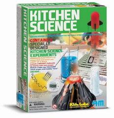 Radošs eksperimentu komplekts Virtuves māksla cena un informācija | Zinātniskās un attīstošās spēles, komplekti radošiem darbiem | 220.lv