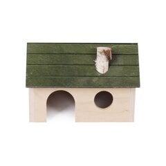 Pet Inn mājiņa, 18 x 12 x 12 cm cena un informācija | Būri un aksesuāri grauzējiem | 220.lv