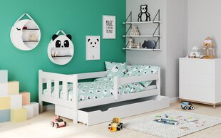 Bērnu gulta Halmar Marinella 160x80 cm, balta cena un informācija | Bērnu mēbeles | 220.lv