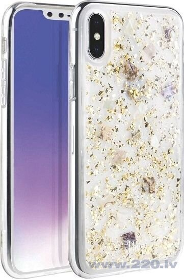 UNIQ Lumence Clear protective case for iPhone XS Max golden (Gold)