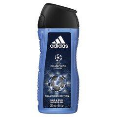 Adidas Champions League dušas želeja cena un informācija | Dušas želejas, eļļas | 220.lv