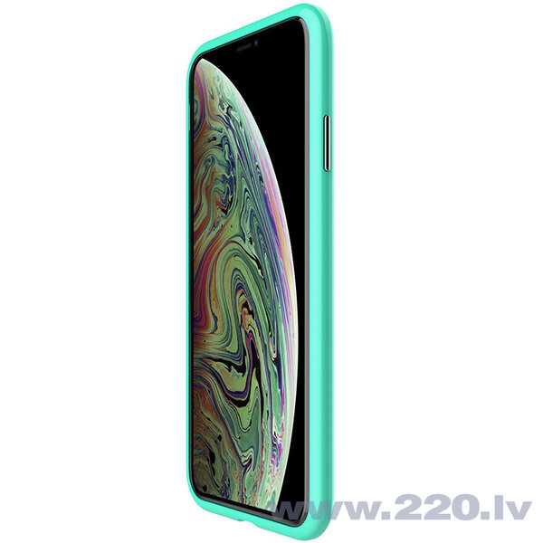 Nillkin Blossom Case Full Body Front and Back Cover for iPhone XS Max green lētāk