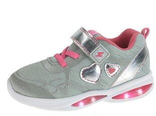 Spīdošie sporta apavi meitenēm Beppi 2169580, Grey cena un informācija | Sporta apavi bērniem | 220.lv
