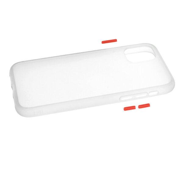 Telefona vāciņš paredzēts IPhone 11, caurspīdīgs atsauksme