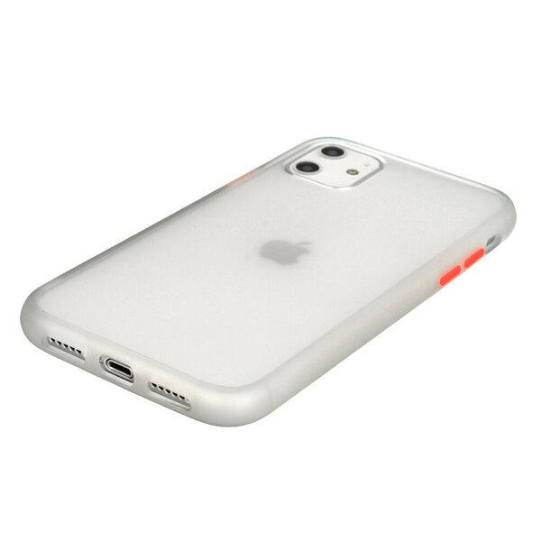 Telefona vāciņš paredzēts IPhone 11, caurspīdīgs internetā