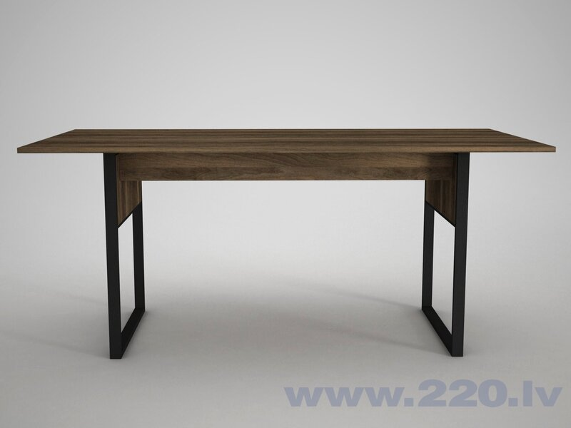 Ēdamistabas galds Kalune Design Lost, brūns cena