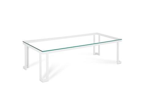 Āra galds Calme Jardin Cannes L, balts cena un informācija | Dārza galdi | 220.lv