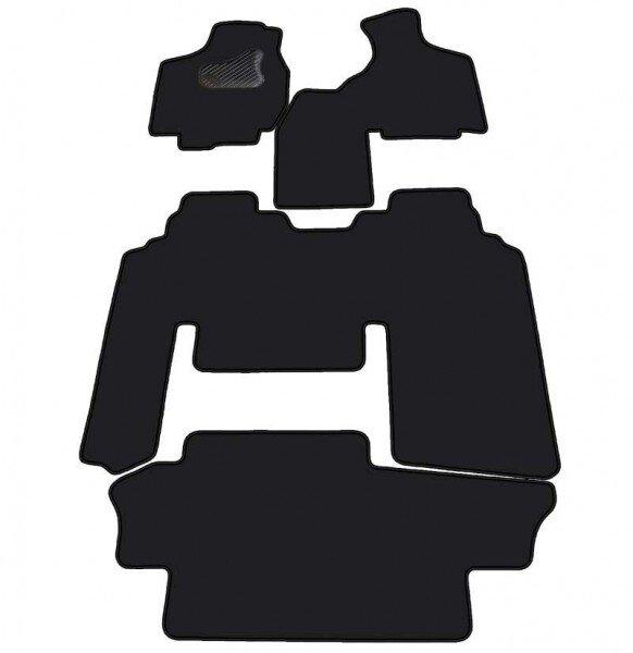 Comfort CHRYSLER VOYAGER autom. gr. d.. II rinda – cietais 2 vietīgs sēdeklis 01-07 MAX 5 , Velūra pārklājums cena un informācija | Tekstila paklājiņi pēc auto modeļiem | 220.lv