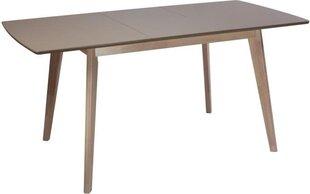 Paplašināms galds Largo, gaiši brūns cena un informācija | Paplašināms galds Largo, gaiši brūns | 220.lv
