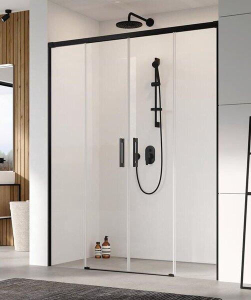Dušas durvis RADAWAY Idea Black DWD