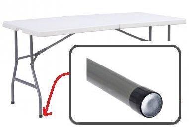 Saliekamais galds 180, balts