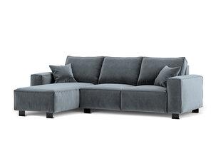 Stūra dīvāns Kooko Home Dolce, pelēks cena un informācija | Stūra dīvāni | 220.lv