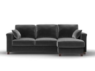 Universāls stūra dīvāns Kooko Home Relax, tumši pelēks cena un informācija | Stūra dīvāni | 220.lv