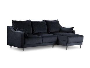 Universāls stūra dīvāns Mazzini Sofas Pansy, tumši zils cena un informācija | Stūra dīvāni | 220.lv