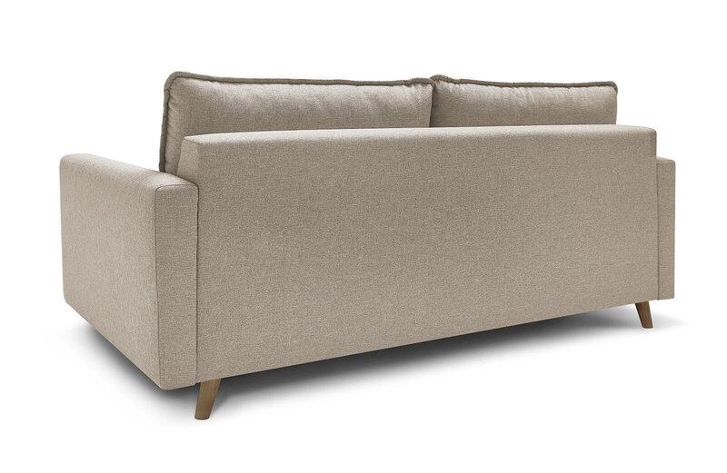 Trīsvietīgs dīvāns BoboChic Sinki, krēmkrāsas atsauksme