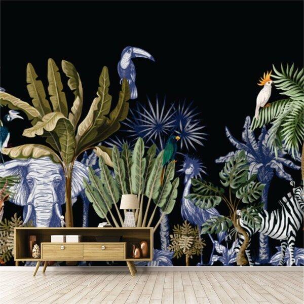 Foto tapetes - Džungļu dzīve cena un informācija | Fototapetes | 220.lv