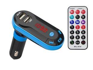 Automašīnas FM modulators Blow Bluetooth 2.1+lādētājs 1,5A cena un informācija | FM Modulatori | 220.lv