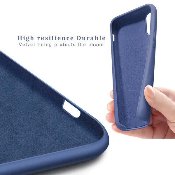 Silikona telefona vāciņš paredzēts iPhone 11, tirkīza krāsā atsauksme