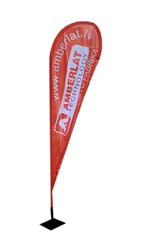 Pludmales karoga kāts / masts, 280cm цена и информация | Подарки, праздничная атрибутика | 220.lv