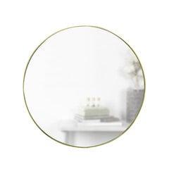 Sienas spogulis Umbra 86 cm, zelta krāsas cena un informācija | Spoguļi | 220.lv