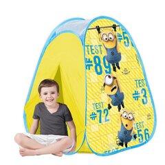 Bērnu telts John Pop up Minjoni (Minions) cena un informācija | Bērnu telts John Pop up Minjoni (Minions) | 220.lv