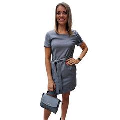 Pelēka ikdienas kleita BRANCHESS cena un informācija | Kleitas | 220.lv