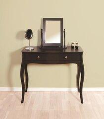 Konsole ar spoguli Steens Baroque 438+678, melna cena un informācija | Kosmētikas galdiņi | 220.lv
