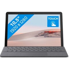 Microsoft Surface Go 2 128GB, Wifi, Pilka cena un informācija | Planšetdatori | 220.lv
