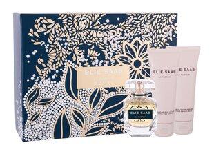 Komplekts Elie Saab Le Parfum sievietēm: EDP, 50 ml + dušo želė, 75 ml ķermeņa losjons, 75 ml cena un informācija | Sieviešu smaržas | 220.lv