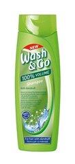 Matu šampūns pret blaugznām Wash&Go, 400 ml cena un informācija | Šampūni | 220.lv