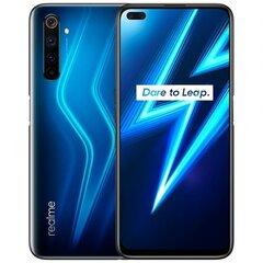 Realme 6 Pro, 8/128GB, Lightning Blue cena un informācija | Mobilie telefoni | 220.lv