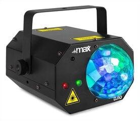 MAX DJ10 JELLY MOON Gaismas efekts ar sarkanu / zaļu lāzeru cena un informācija | MAX DJ10 JELLY MOON Gaismas efekts ar sarkanu / zaļu lāzeru | 220.lv