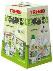 TRI-BIO trauku mazgāšanas līdzekļu komplekts cena un informācija | Trauku mazgāšanas līdzekļi | 220.lv