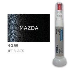Krāsu korektors skrāpējumu korekcijai MAZDA 41W - JET BLACK 12 ml cena un informācija | Krāsu korektors skrāpējumu korekcijai MAZDA 41W - JET BLACK 12 ml | 220.lv