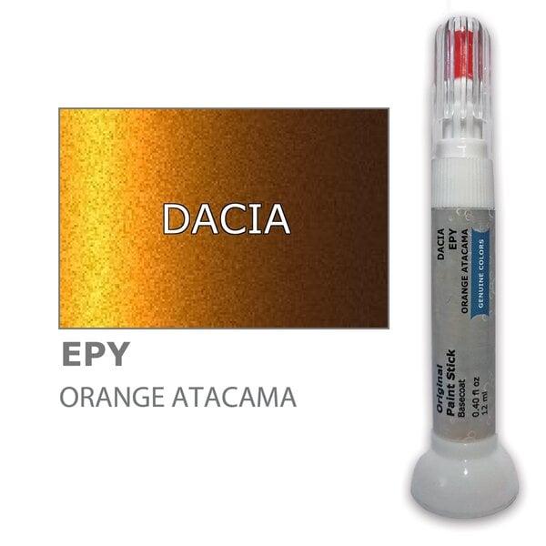 Krāsu korektors skrāpējumu korekcijai DACIA EPY - ORANGE ATACAMA 12 ml