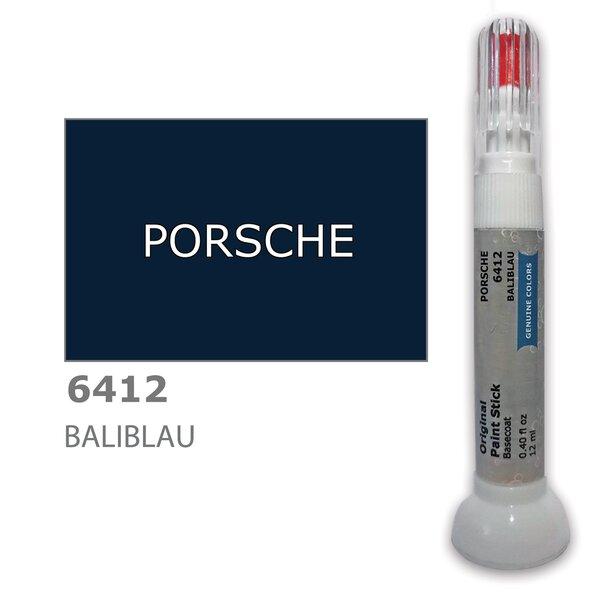 Krāsu korektors skrāpējumu korekcijai PORSCHE 6412 - BALIBLAU 12 ml