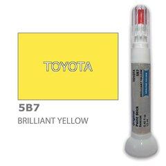 Krāsu korektors skrāpējumu korekcijai TOYOTA 5B7 - BRILLIANT YELLOW 12 ml cena un informācija | Auto krāsas | 220.lv