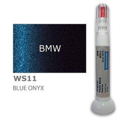 Krāsu korektors skrāpējumu korekcijai BMW WS11 - BLUE ONYX 12 ml cena un informācija | Auto krāsas | 220.lv