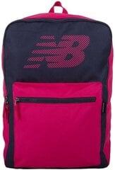 New Balance Mugursoma Booker Backpack II Pink Grey cena un informācija | New Balance Mugursoma Booker Backpack II Pink Grey | 220.lv