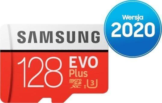 Samsung EVO Plus 128GB microSD ar adapteri lētāk