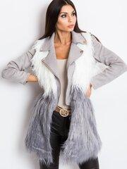 Sieviešu mākslīgās kažokādas veste Selvaggio cena un informācija | Žaketes sievietēm | 220.lv