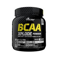 BCAA Xplode powder Olimp Sport Nutrition 500 g ice tea peach cena un informācija | Aminoskābes | 220.lv