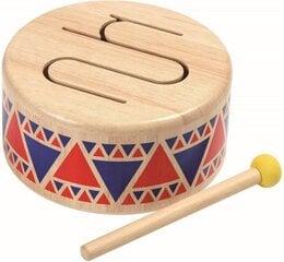 Mūzikas instruments PlanToys Solid Drum cena un informācija | Zinātniskās un attīstošās spēles, komplekti radošiem darbiem | 220.lv